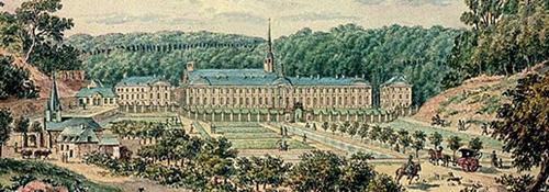 HISTOIRE ABRÉGÉE DE L'ÉGLISE - PAR M. LHOMOND – France - 1818 - DEUXIEME PARTIE ( Images et Cartes) Monastere
